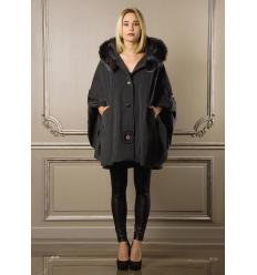 Grey Cape LOULOU Fox