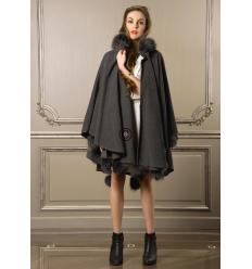 Anthracite Cape SONIA Fox