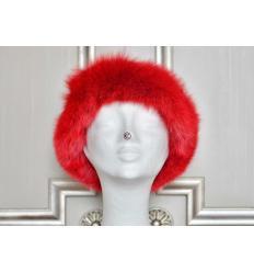 Chapeau rouge OLGA Renard