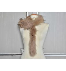 Natural Scarf MARINA Fox
