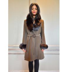Brown Coat ELYSA Fox