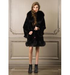 Black Coat 7111 Rabbit and Fox