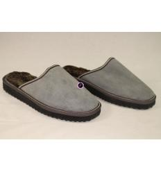 Greys Slippers ARSENE Nubuck and Sheepskin