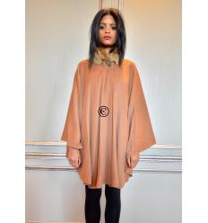 Camel Cape BARBARA Fox