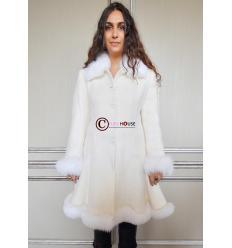Manteau blanc GABRIELA Renard
