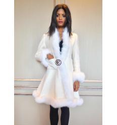 Manteau blanc RIO Renard