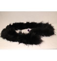 Black Scarf MARINA Fox